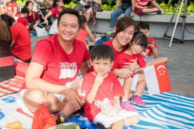 Live NDP Telecast Family Picnic by the Waterfront sports hub