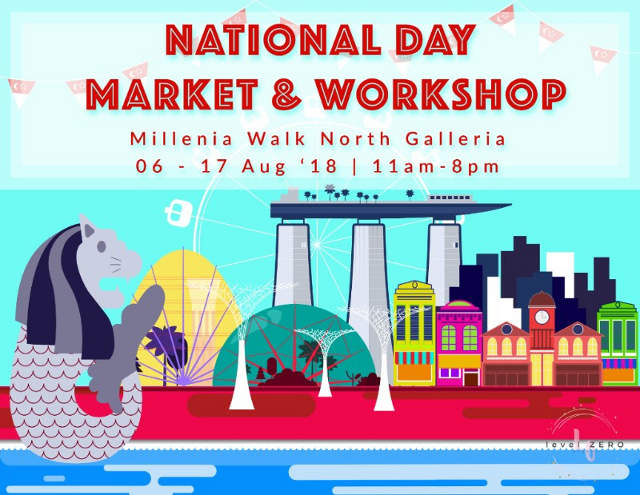 National Day Pop-up Market And Workshop