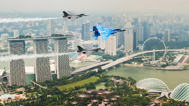 RSAF50 at Marina Barrage