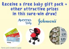Receive A Free Baby Gift Pack