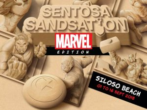 Sentosa Sandsation 2018 Marvel Edition – Free Entry To Sentosa
