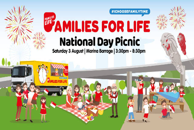 Families For Life's National Day Picnic @ Marina Barrage