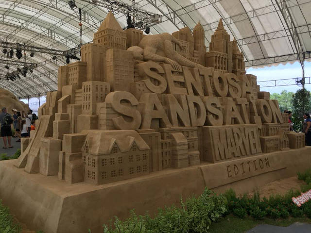 sentosa sandsation marvel edition