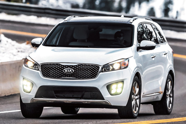what are the best family cars to buy - kia sorento
