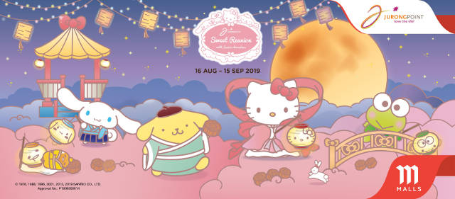 Sweet Reunion with Sanrio Characters Jurong Point