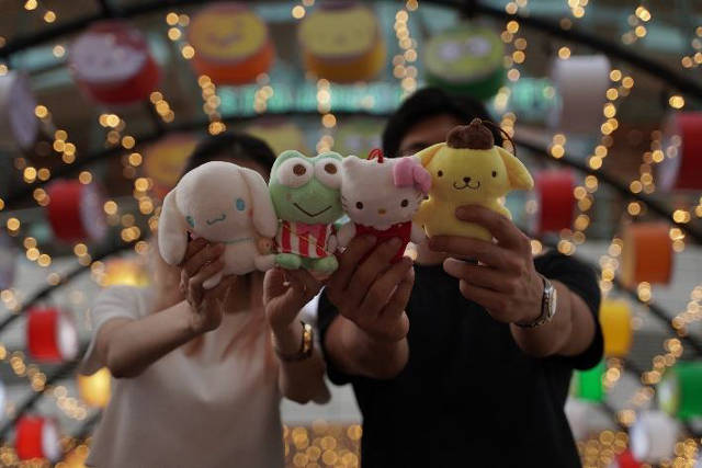 jurong point Sanrio characters Plushiemid autumn
