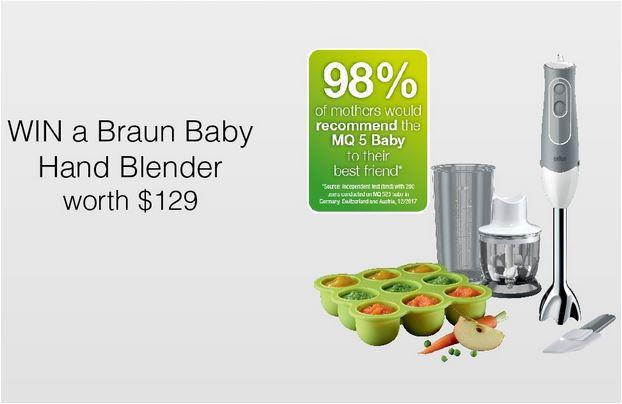 Win Braun Baby Hand Blender