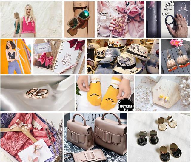 CMYK Flea Market Shopping