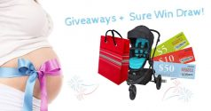 Receive a Free Baby Gift Pack + Sure Win Draw