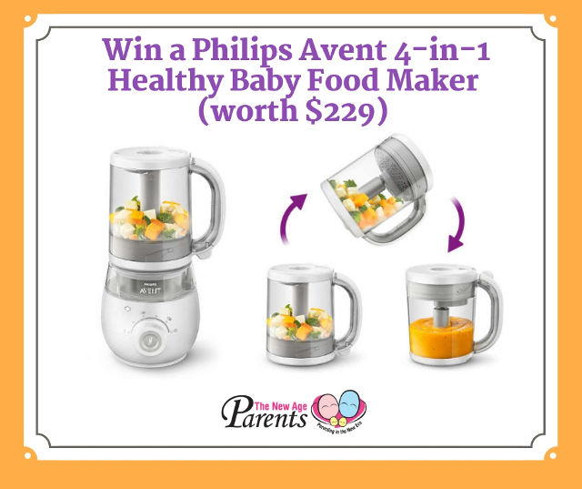 Philips Avent 4-in-1 Healthy Baby Food Maker Giveaway