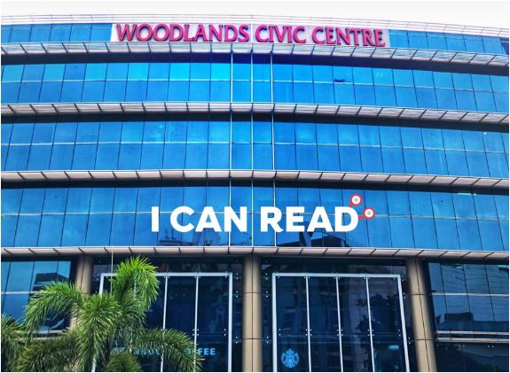i can read woodlands civic centre