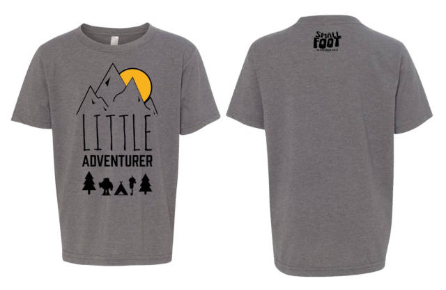 smallfoot youth tee