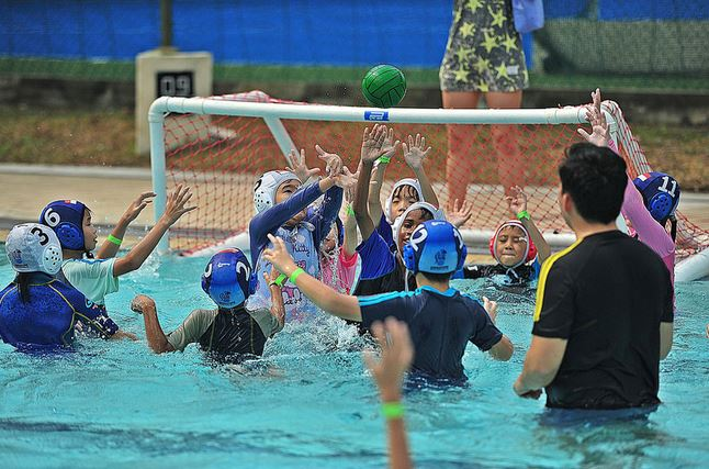 Water Polo for kids Singapore
