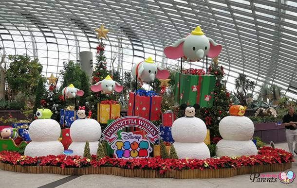 disney tsum tsum gardens by the bay