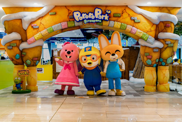 TNAP x Pororo Park Singapore & Tayo Station Winner