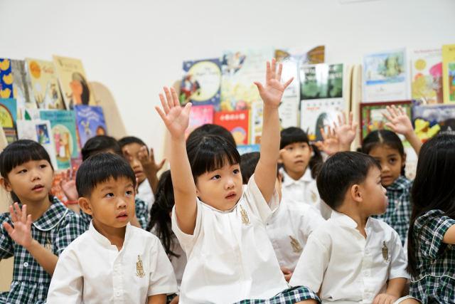 repton schoolhouse happy children