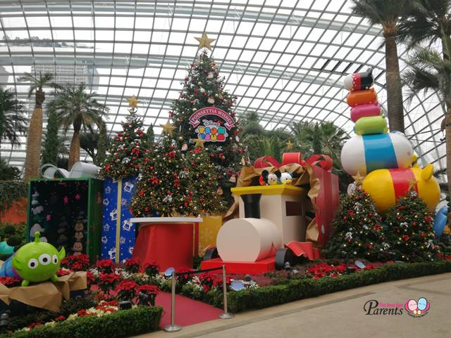 tsum tsum at gardens by the bay