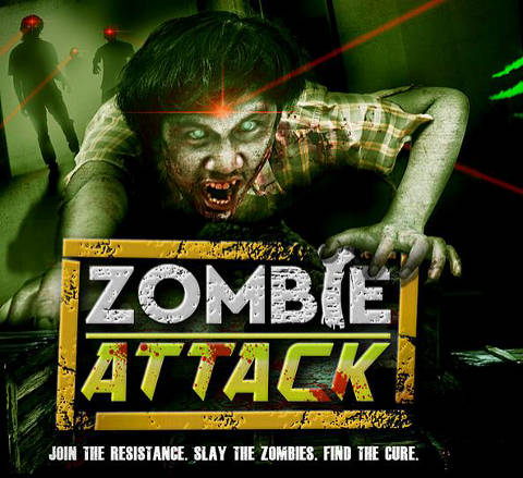 zombie attack halloween event