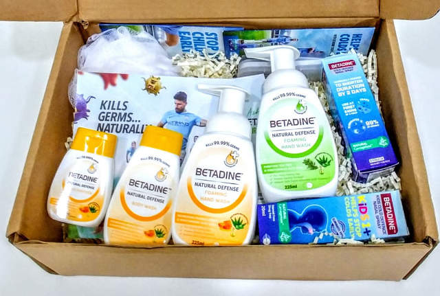 TNAP Subscribers Only Giveaway: Betadine Hamper