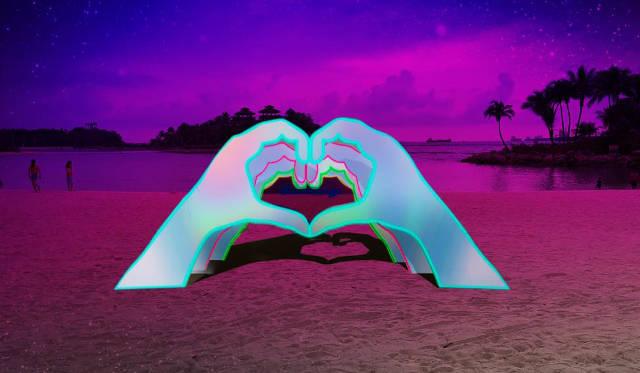 Dazzling Island Lights