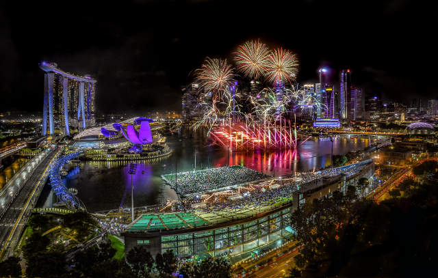 Marina Bay Singapore Countdown 2019