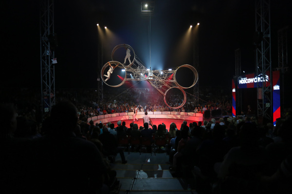 The Great Moscow Circus Singapore WheelofDeath