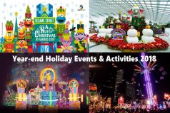 November-December School Holidays 2018 Activities for Kids