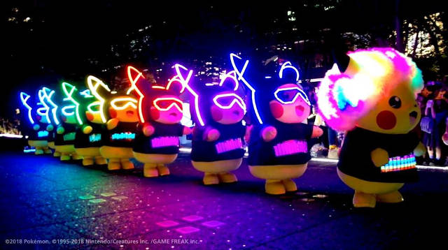 pikachu parade sentosa