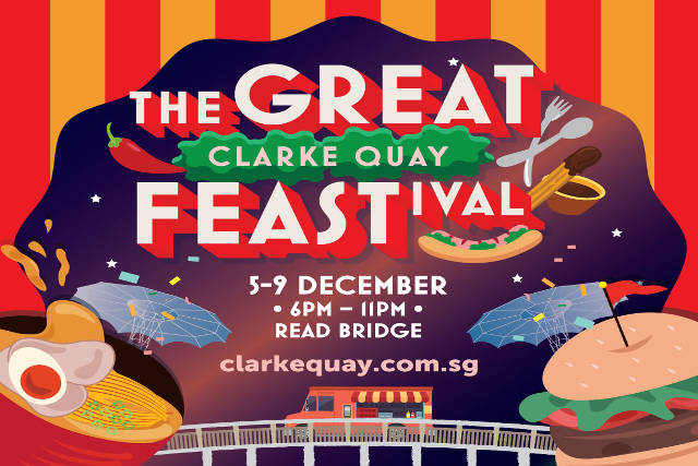 the great clarke quay feastival
