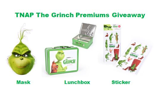 the grinch movie premiums