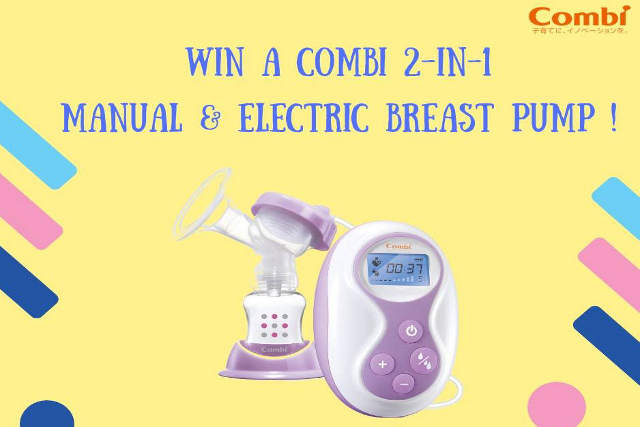 Combi 2 In 1 Manual & Electric Breast Pump Giveaway