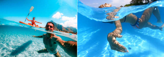 How to take good pictures underwater
