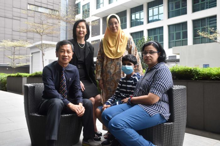 Overcoming Leukemia NUH patient Reshvern story