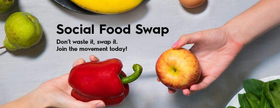 Social Food Swap Reduce food wastage