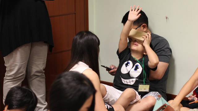 AR VR Workshops Singapore Art Museum