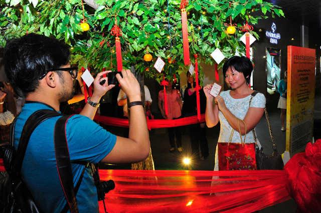 Chinatown Wishing Tree