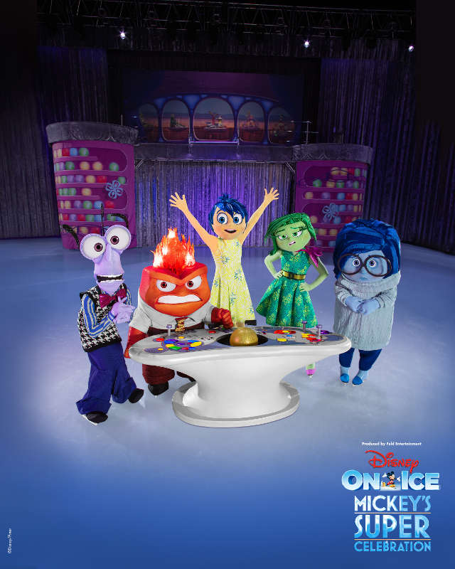 Disney on ice 2019 Emotions from Pixar Inside Out