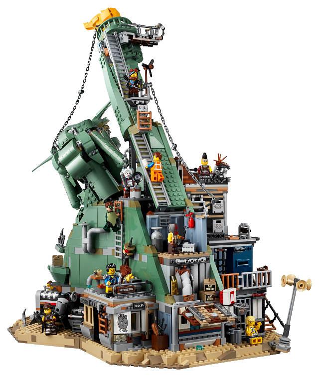 Lego Emmet's Lenticular Mosaic