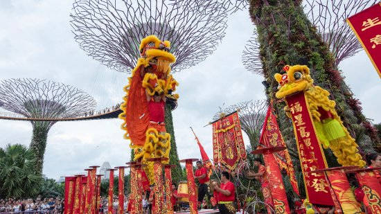 Lunar New Year at Gardens by the Bay