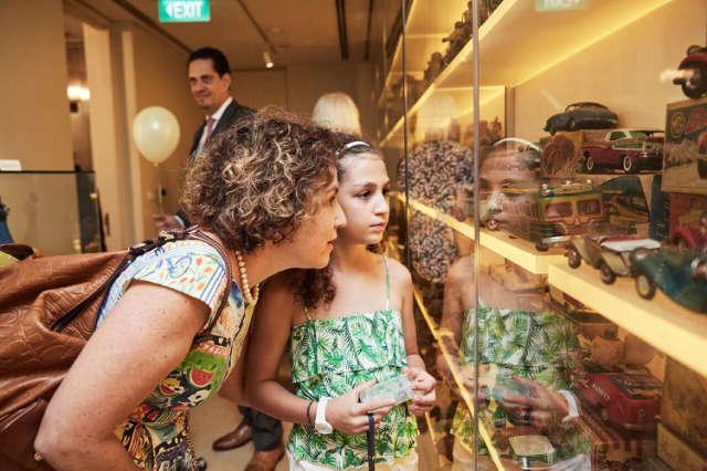 MINT museum singapore guests