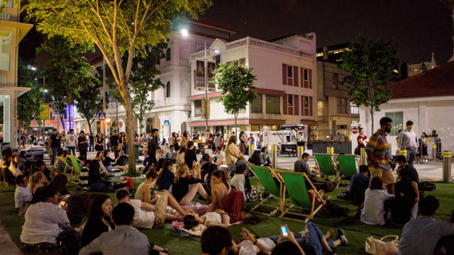 Outdoor Movie Screening - The Girl Who Leapt Through Time Singapore Art Museum