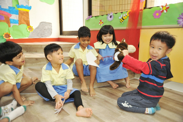 Preschool in central areas Carpe Diem Starlets Sparkle