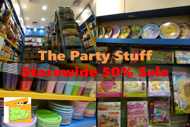 the party stuff sale storewide