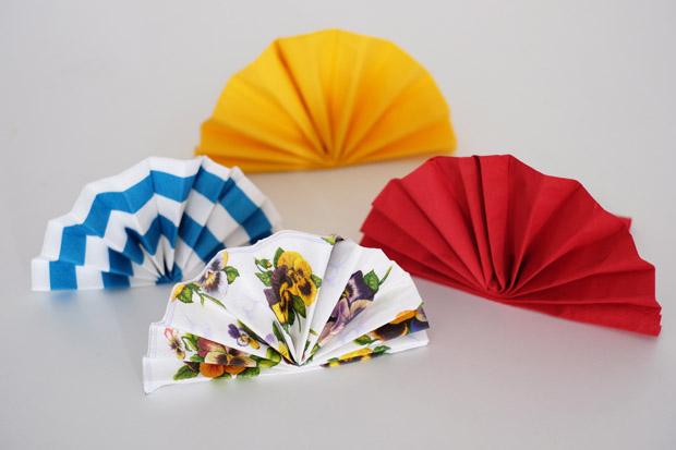 Festive Fan Origami