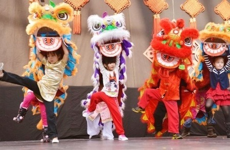 Lion Dance Workshop