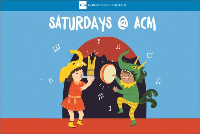Saturdays@ACM Asian Civilisations Museum
