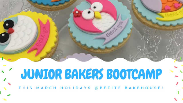 Junior Bakers Bootcamp