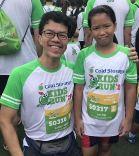 Running with Kids Cold Storage Kids Run
