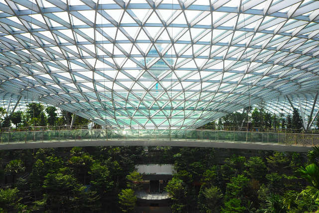 jewel changi airport rain vortex