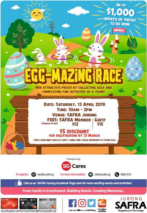 safra egg-amazing event
